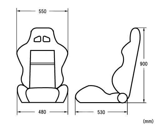 Original bucket and reclining seat with option parts type malvernweather Images